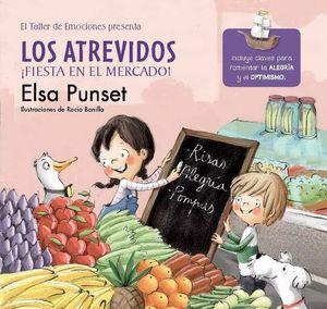 LOS ATREVIDOS FIESTA EN EL MERCADO! - TALLER EMOCIONES 6