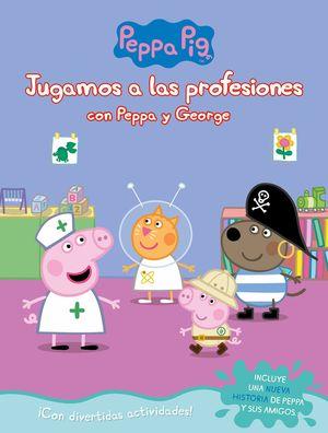 JUGAMOS A LAS PROFESIONES CON PEPPA Y GEORGE. PEPPA PIG