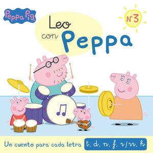 LEO CON PEPPA PIG N.3 UN CUENTO PARA CADA LETRA T, D, N, F, R/RR, H