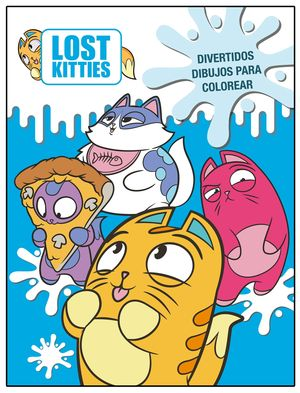 DIVERTIDOS DIBUJOS PARA COLOREAR. LOST KITTIES