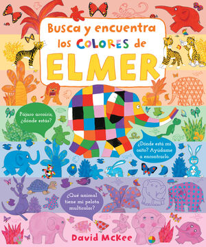BUSCA Y BUSCA Y ENCUENTRA LOS COLORES DE ELMER