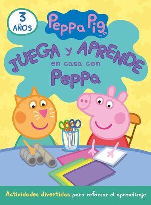 JUEGA Y APRENDE EN CASA CON PEPPA (3 AÑOS)