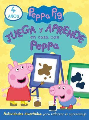 JUEGA Y APRENDE EN CASA CON PEPPA (4 AÑOS)