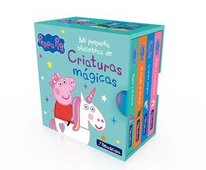 MI PEQUEÑA BIBLIOTECA DE CRIATURAS MÁGICAS (PEPPA PIG)