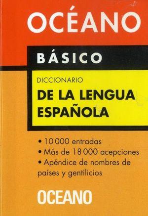 DICCIONARIO DE LA LENGUA ESPAÑOLA. BÁSICO