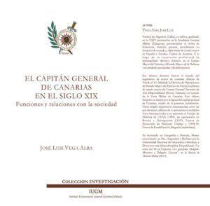 EL CAPITÁN GENERAL DE CANARIAS EN EL SIGLO XIX