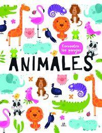 ANIMALES. ENCUENTRA LAS PAREJAS