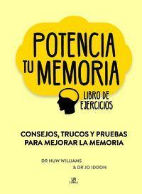 POTENCIA TU MEMORIA. LIBRO DE EJERCICIOS