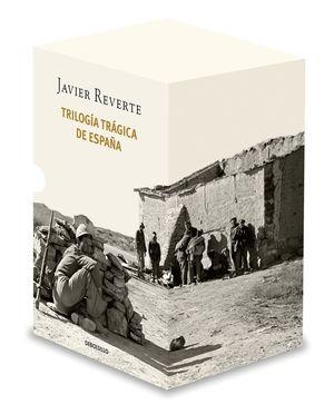 ESTUCHE TRILOGÍA TRÁGICA DE ESPAÑA: BANDERAS EN LA NIEBLA / EL TIEMPO DE LOS HÉROES / VENGA A NOSOTROS TU REINO