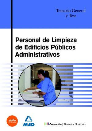 PERSONAL DE LIMPIEZA DE EDIFICIOS PUBLICOS ADMINISTRATIVOS