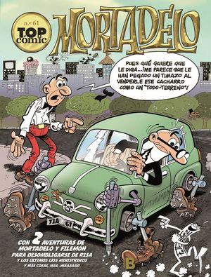 TOP COMIC MORTADELO N.61