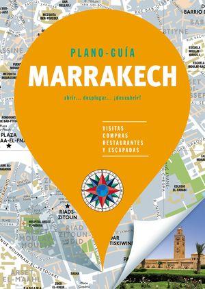 MARRAKECH - PLANO-GUÍA