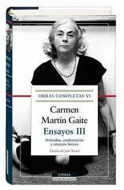 ENSAYOS III. OBRAS COMPLETAS VI