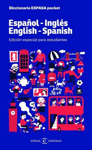 DICCIONARIO POCKET ESPAÑOL-INGLES INGLÉS-ESPAÑOL