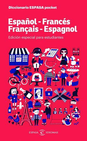 DICCIONARIO POCKET ESPAÑOL-FRANCÉS FRANCÉS-ESPAÑOL