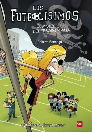LOS FUTBOLÍSIMOS 10 EL MISTERIO DEL TESORO PIRATA