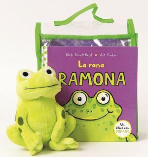 PACK LA RANA RAMONA + MUÑECO