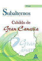 SUBALTERNOS DEL CABILDO DE GRAN CANARIA. TEST