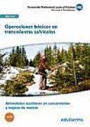 OPERACIONES BÁSICAS EN TRATAMIENTOS SELVÍCOLAS (UF1045). ACTIVIDADES AUXILIARES