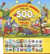 DICCIONARIO SONORO MÁS DE 500 PALABRAS INGLES ESPAÑOL