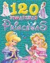 120 PEGATINAS PRINCESAS (VERDE)