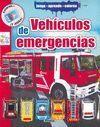 VEHÍCULOS DE EMERGENCIAS - JUEGA, APRENDE, COLOREA