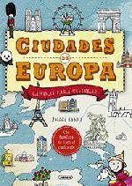 CIUDADES DE EUROPA. LÁMINAS PARA COLOREAR