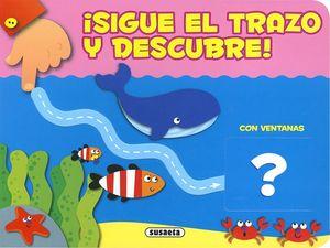 SIGUE EL TRAZO Y DESCUBRE. ANIMALES. CON VENTANAS