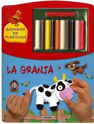 LA GRANJA. ANIMALES DE PLASTILINA