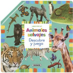 ANIMALES SALVAJES. DESCUBRE Y JUEGA
