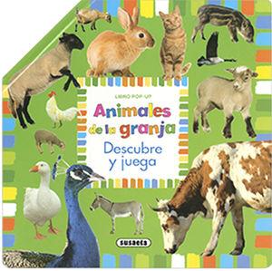 ANIMALES DE LA GRANJA. POP UP