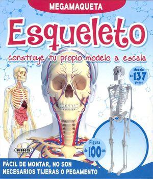 ESQUELETO. CONSTRUYE TU PROPIO MODELO A ESCALA - MEGAMAQUETA