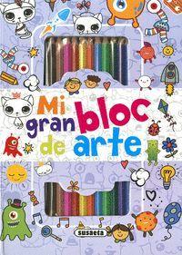 DOODLES. MI GRAN BLOC DE ARTE (AZUL)