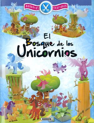 EL BOSQUE DE LOS UNICORNIOS. MAQUETAS RECORTABLES