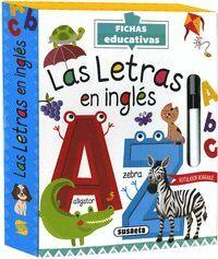 LAS LETRAS EN INGLES - CAJA