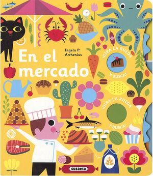 EN EL MERCADO. GIRA LA RUEDA Y BUSCA