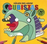 CUBISTAS. MASCARAS PARA COLOREA