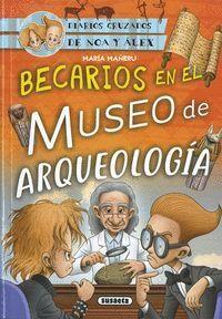 BECARIOS EN EL MUSEO DE ARQUEOLOGIA