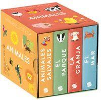 MINIBIBLIOTECA ANIMALES (4 VOL.)
