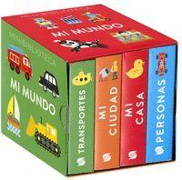 MINIBIBLIOTECA MI MUNDO (4 VOL.)