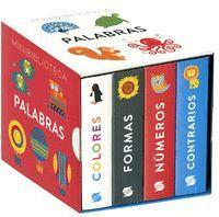 MINIBIBLIOTECA PALABRAS (4 VOL.)