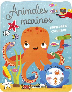 ANIMALES MARINOS. LIBRO PARA COLOREAR