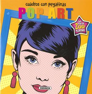 POP ART. CUADROS CON PEGATINAS