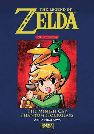 THE LEGEND OF ZELDA PERFECT EDITION:THE MINISH CAP Y PHANTOM HOURGLASS