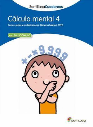CALCULO MENTAL 4                         CUADERNILLO
