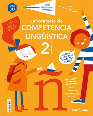 LABORATORIO DE COMPETENCIA LINGUISTICA 3D 2º PRIMARIA