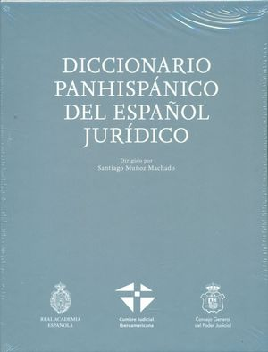 DICCIONARIO PANHISPANICO DEL ESPAÑOL JURIDICO (2 VOL.)