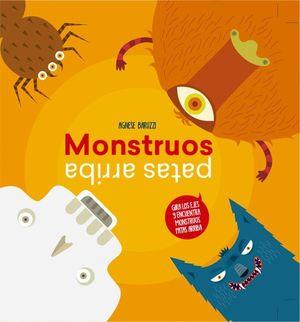 MONSTRUOS PATAS ARRIBA LIBROS DE MONSTRUOS