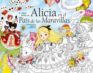 ALICIA EN EL PAIS DE LAS MARAVILLAS. LIBRO PUZLE