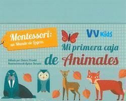 MI PRIMERA CAJA DE ANIMALES. MONTESSORI UN MUNDO DE LOGROS